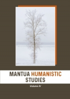 Mantua Humanistic Studies. Volume IV - Universitas Studiorum