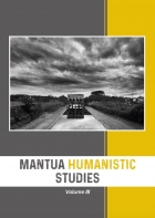 Mantua Humanistic Studies. Volume III - Universitas Studiorum